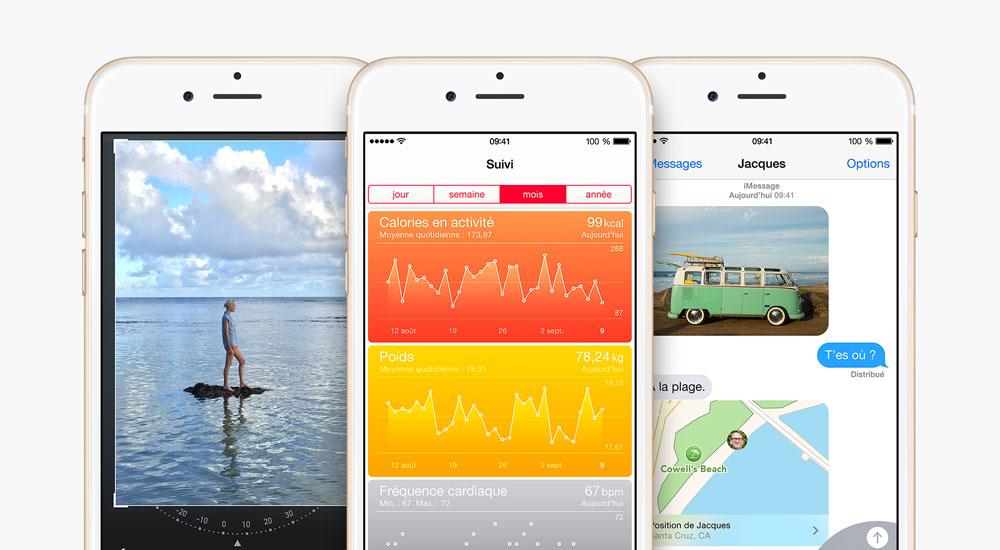iOS 8 iOS repasse devant Android aux USA fin 2014