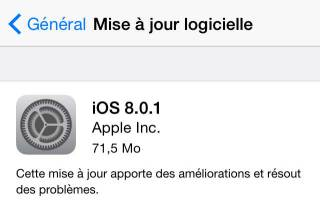 iOS8.0.1 320x219 [MAJ importante] iOS 8.0.1 est disponible