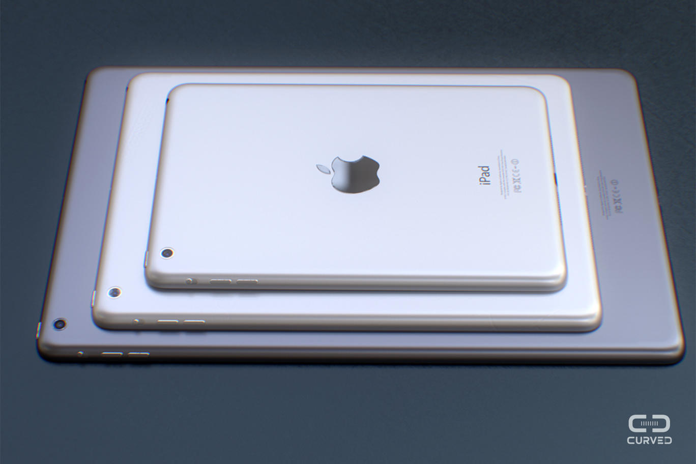iPad Pro concept Curved 07 LiPad Air 2 pour Octobre, le reste pour 2015