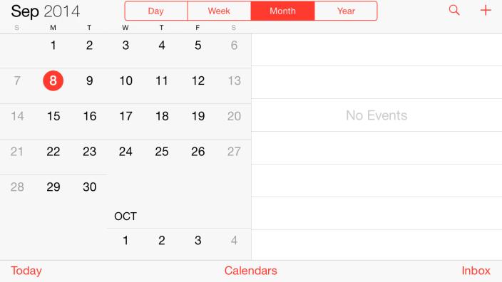 iPhone6 5.5 pouces comme iPad 2 Et si l'iPhone 5,5 pouces proposait un mode paysage de type iPad ?
