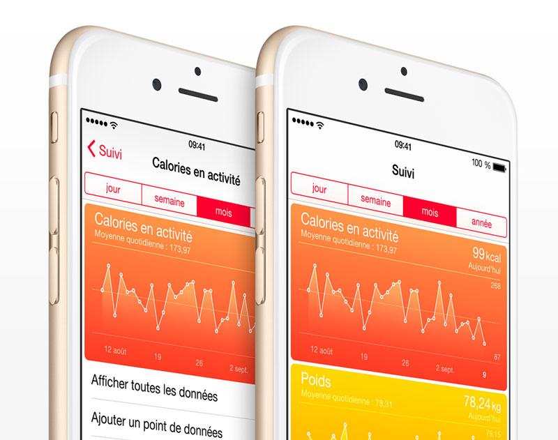 ios 8 health app La FTC inquiète à propos des données collectées via Health
