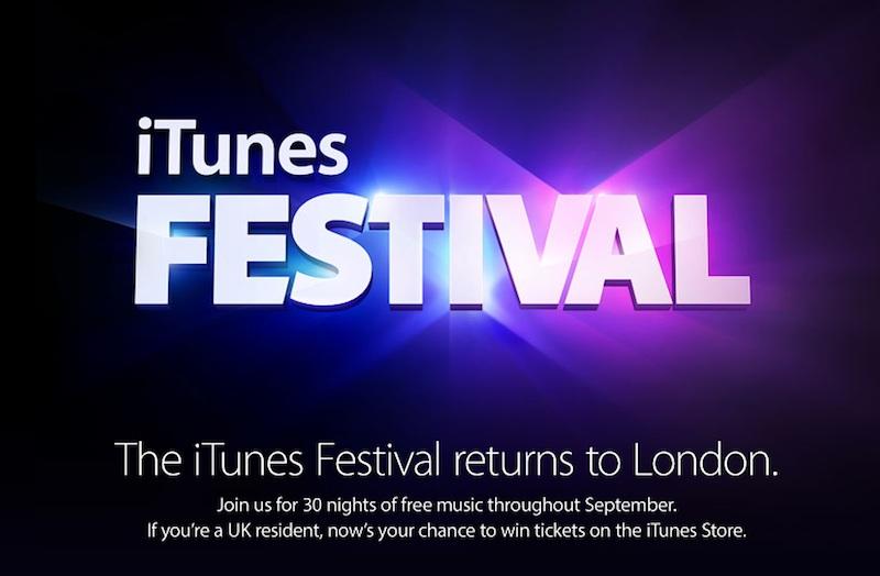 itunes festival 2013 banner iTunes festival 2014 : Apple finalise la liste des artistes qui se produiront