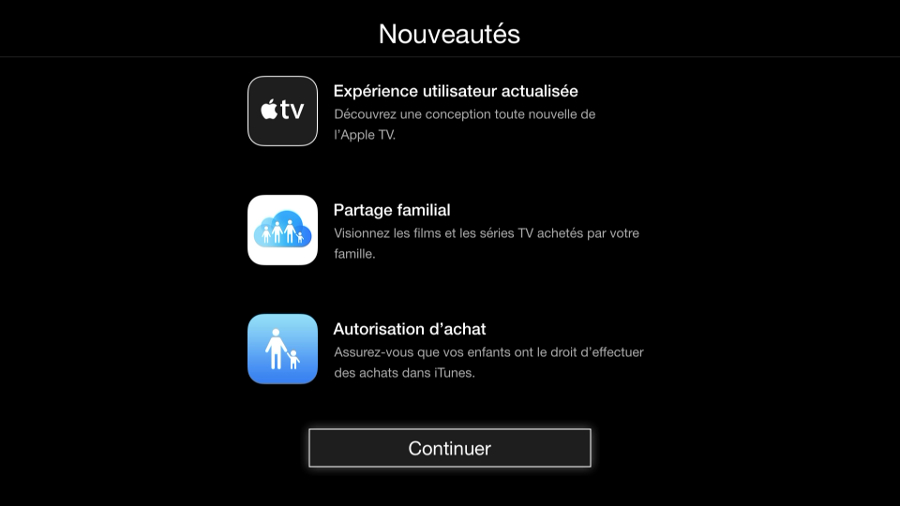 mise a jour apple tv fonctions ios8 beats 2 Apple a publié la mise à jour de l'Apple TV Software version 7.0