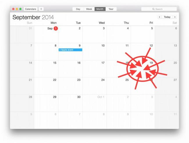 precommandes iphone6 19 sept Précommandes iPhone 6: le 19 septembre confirmé par une source néerlandaise