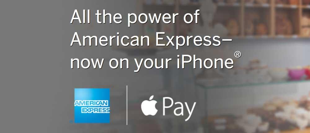 Apple Pay1 American Express présente Apple Pay