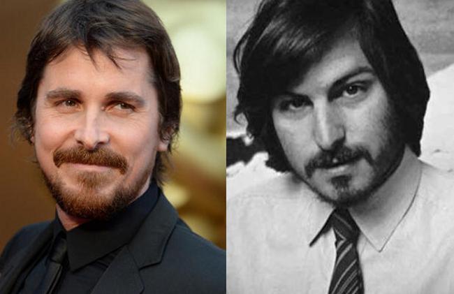 Christian Bale dans le role de Steve Jobs 2 C'est bien Christian Bale qui jouera le rôle de Steve Jobs