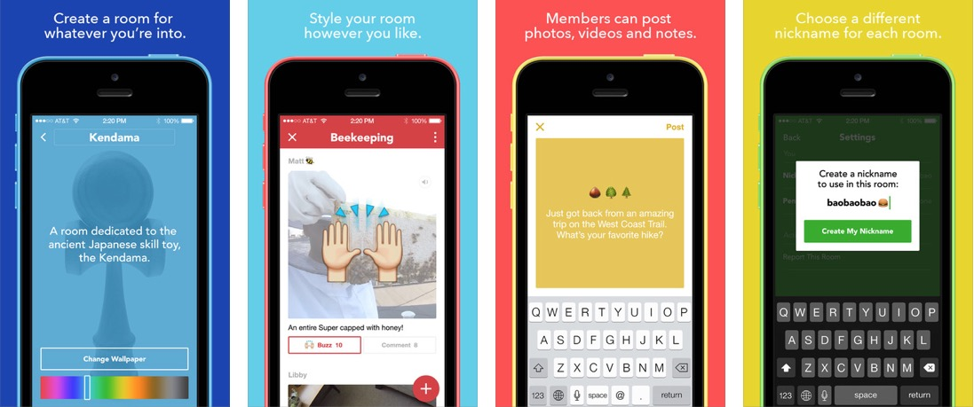 Facebook Rooms pour iphone Facebook lance Rooms pour iPhone