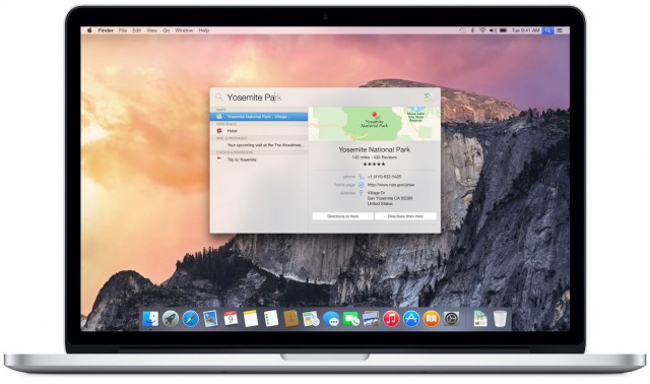 OS X Yosemite GM candidate 2 OS X Yosemite GM candidate 2 disponible pour les développeurs