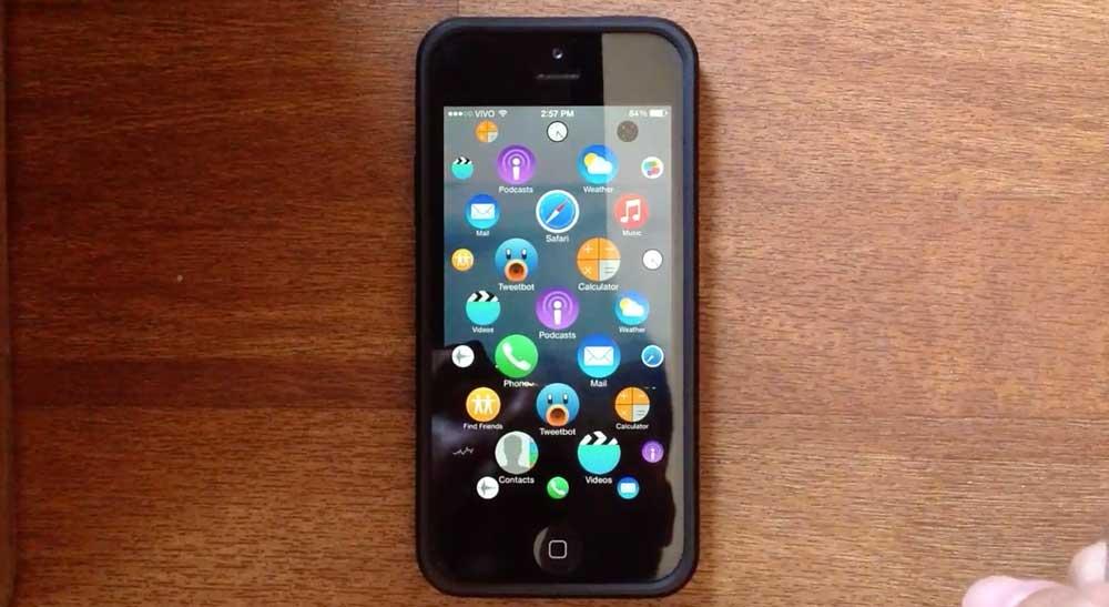 WatchSpringboard Cydia : Testez le concept de lApple Watch sur votre appareil sous iOS 8