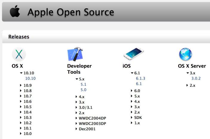 apple 10 10 yosemite code darwin open source Apple a publié lOpen Source Darwin 10.10.0 pour Yosemite