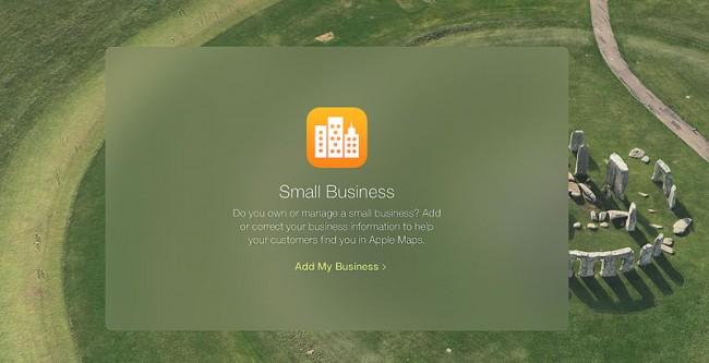 apple lance Maps Connect Apple lance Maps Connect pour référencer les commerçants