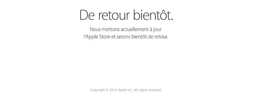 apple store ferme pour le keynote LApple Store a de nouveau fermé ses portes