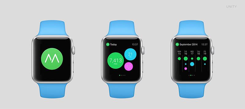 apple watch moves A quoi ressembleront les applications sur lApple Watch ?