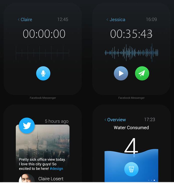 concept ios apps sur apple watch 3 Concept: Les applications populaires diOS sur lApple Watch