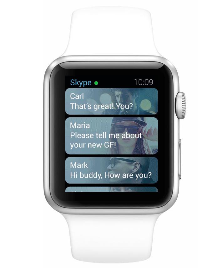 concept ios apps sur apple watch Concept: Les applications populaires diOS sur lApple Watch