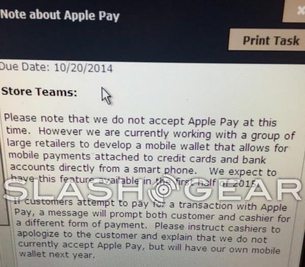 cvs apple pay note Apple Pay refusé par plusieurs grands groupes américains