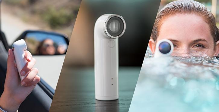 htc devoile un periscope compatible ios HTC lance sa caméra sportive façon GoPro et compatible iOS