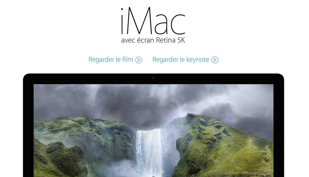 iMac 5K LApple Store rouvre ses portes et accueille tous les nouveaux produits