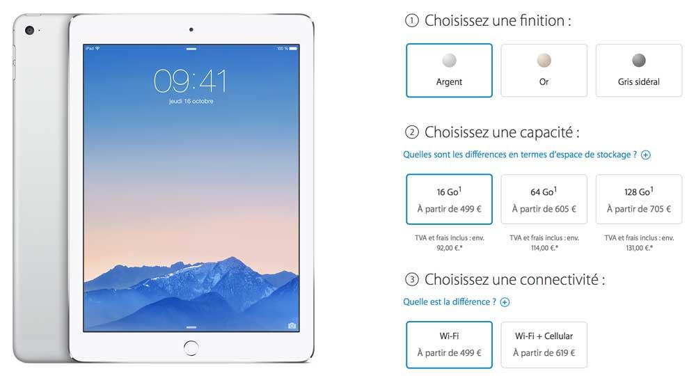 iPad Air 21 Les précommandes des nouveaux iPad sont ouvertes