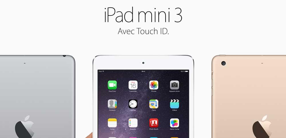 iPad mini 3 LApple Store rouvre ses portes et accueille tous les nouveaux produits
