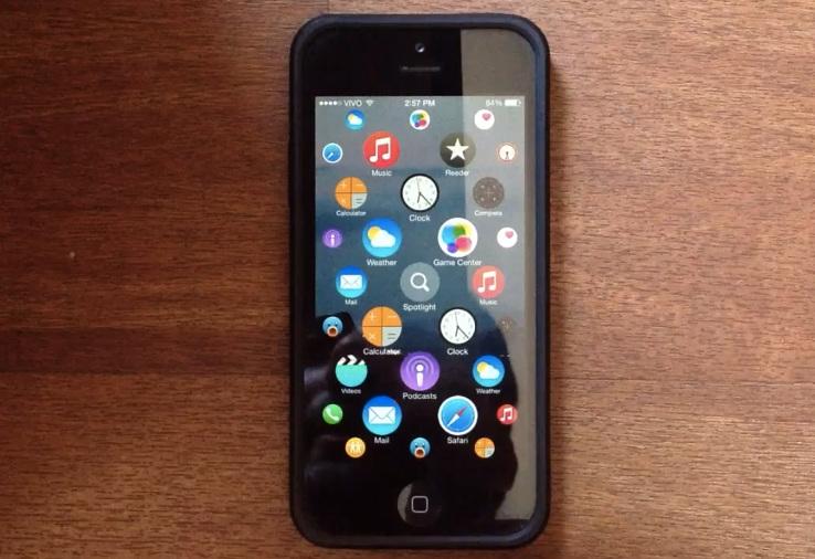 iPhone avec ecran Apple Watch Quand liPhone reprend lécran de lApple Watch