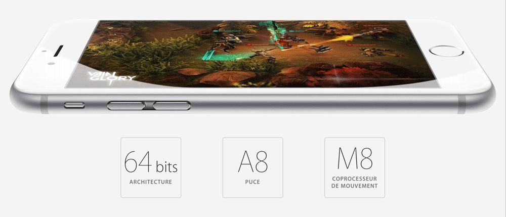 iPhone 6 Petite course de vitesse : iPhone 6 vs Galaxy S5 vs HTC One M8