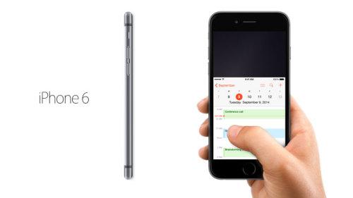 iphone6 500x281 Un iPhone 6 en jeu demain sur AppSystem