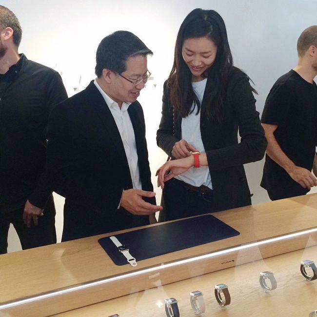 liu wen premiere egerie d apple pour Apple watch Le mannequin Liu Wen peut être égérie de l'Apple Watch