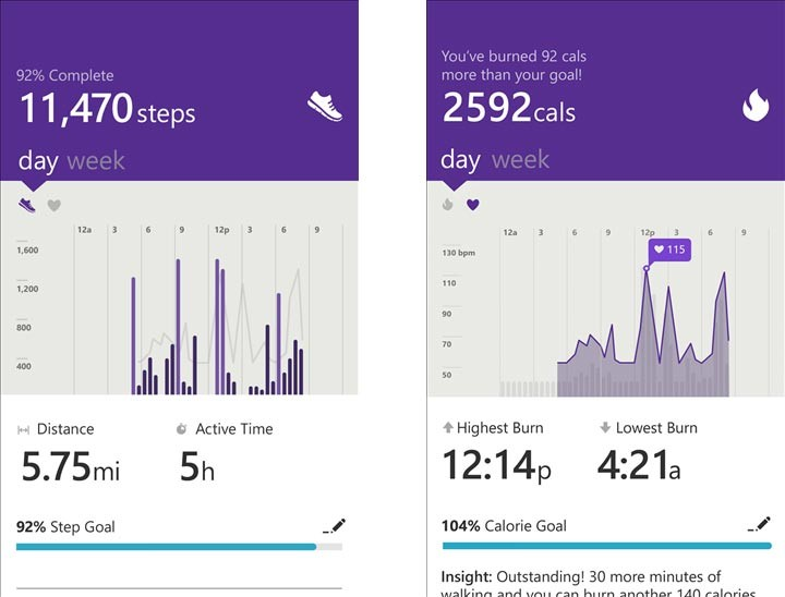 microsoft band Microsoft Health Microsoft Band : Un nouveau concurrent de lApple Watch