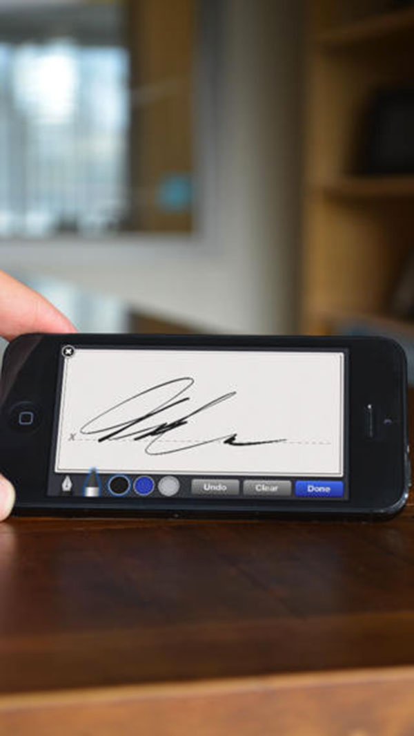 signnow Signez des docs PDF et Word avec votre iPhone