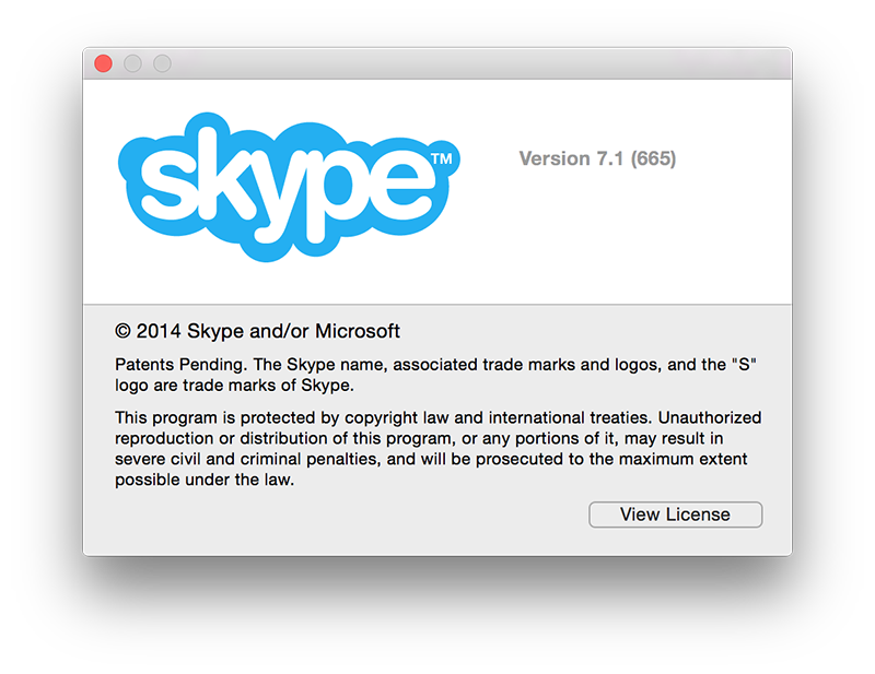 skype pour mac os x version 7.1 support officiel osx yosemite Skype passe à la version 7.1 pour supporter OS X Yosemite