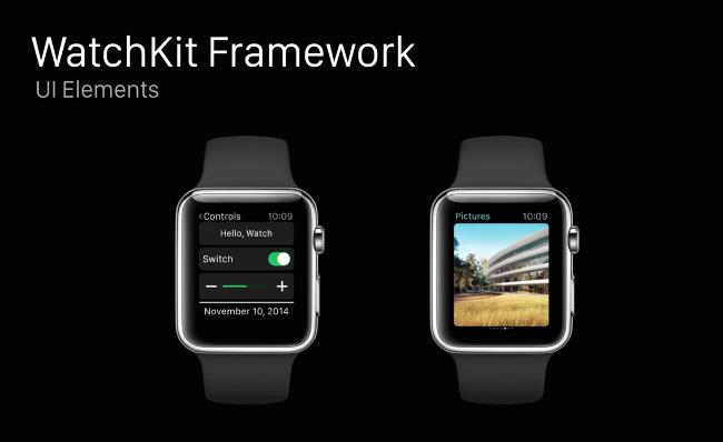 Apple Watch Watchkit Framework slide 5 Des détails intéressants de lApple Watch dans le Watchkit