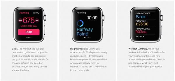 Apple mise a jour informations apple watch 3 Le site US dApple met à jour sa section sur lApple Watch
