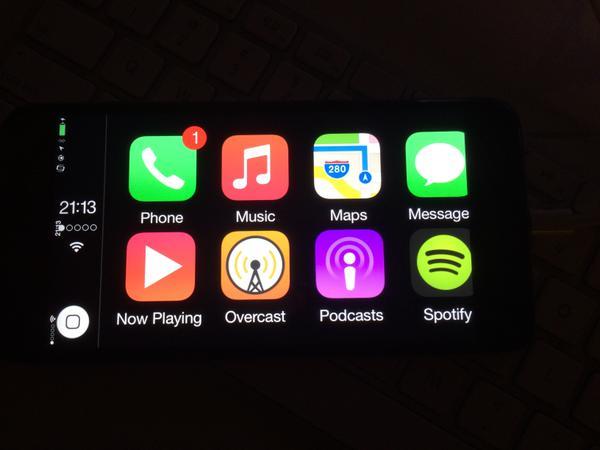 B3aebPWCEAA6ngX [Cydia] CarPlay bientôt disponible sur iPhone et iPad