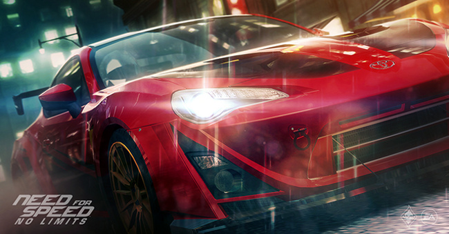 Need for Speed No Limits exploite le Frostbite Engine sur iOS 2 Need for Speed No Limits sur iOS exploitera Frostbite Engine
