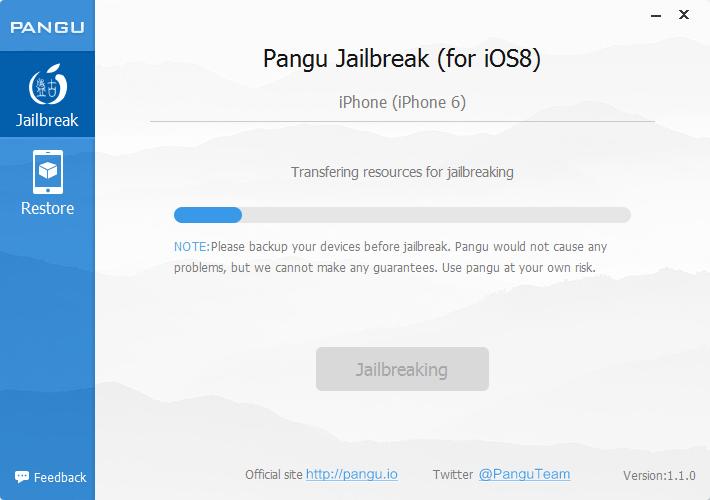 Sans titre3 [TUTO] Jailbreak de liOS 8 avec PanGu8 v1.1.0