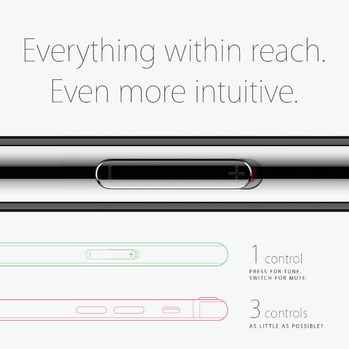 concept iPhone 6s Grisha Serov 5 Joli concept iPhone 6S inspiré par lApple Watch