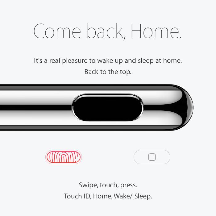 concept iPhone 6s Grisha Serov 6 Joli concept iPhone 6S inspiré par lApple Watch