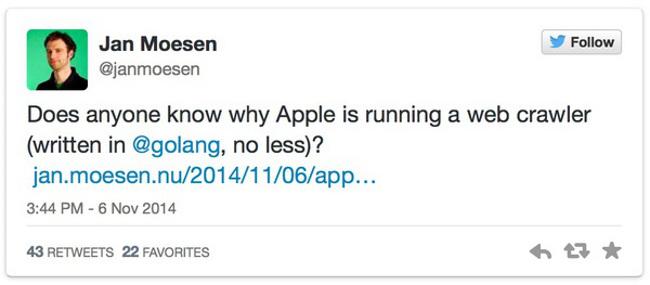 moteur de recherche Apple Un moteur de recherche Apple en préparation ?