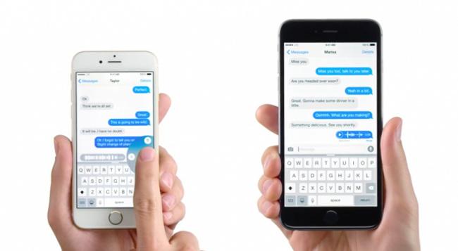 nouvelle pub iPhone 6 Voice Text Nouvelle pub Apple pour les messages vocaux