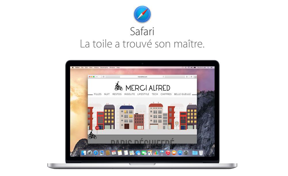 safari yosemite Apple lance Safari 8.0.4 avec plus de stabilité et de sécurité