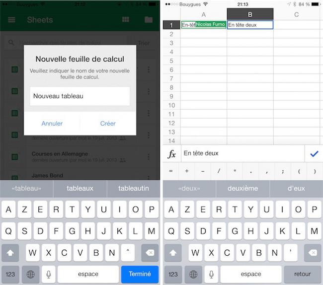 Google adapte sa suite bureautique a l iPhone 6 La suite bureautique de Google compatible avec les iPhone 6