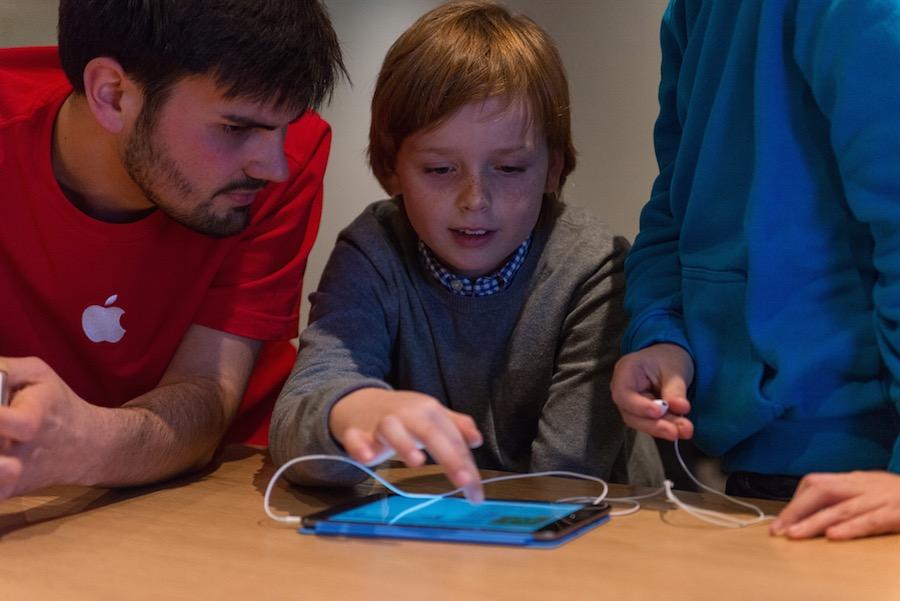 Hour of Code Berlin 2 Apple présente la galerie photos des ateliers Hour of Code