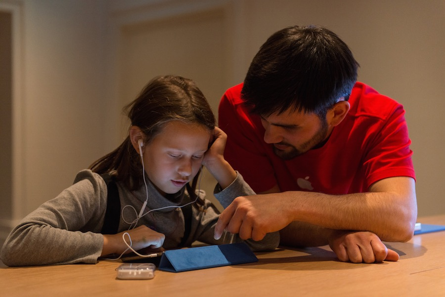 Hour of Code Berlin 4 Apple présente la galerie photos des ateliers Hour of Code