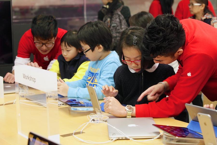 Hour of Code Hong Kong 1 Apple présente la galerie photos des ateliers Hour of Code