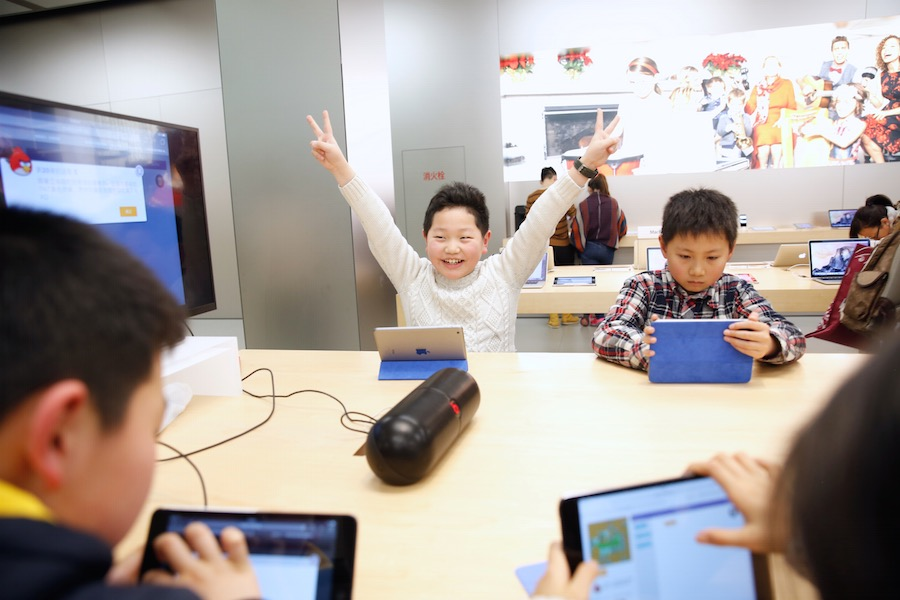 Hour of Code Shanghai 1 Apple présente la galerie photos des ateliers Hour of Code