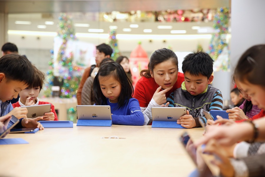 Hour of Code Shanghai 2 Apple présente la galerie photos des ateliers Hour of Code