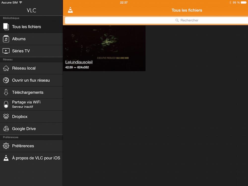 Premiere beta du nouveau VLC pour iOS La première bêta de VLC pour iOS est disponible
