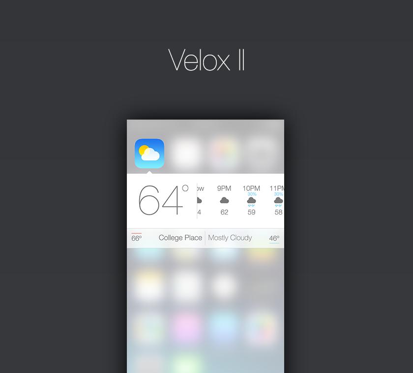 TVxQKIY [Cydia] Velox 2 en cours de développement !