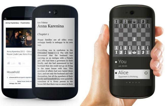 YotaPhone 2 000 YotaPhone 2 : Un concurrent de liPhone à double écran